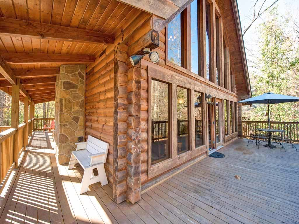 Photo of a Gatlinburg Cabin named Amazing River Retreat - This is the second photo in the set.