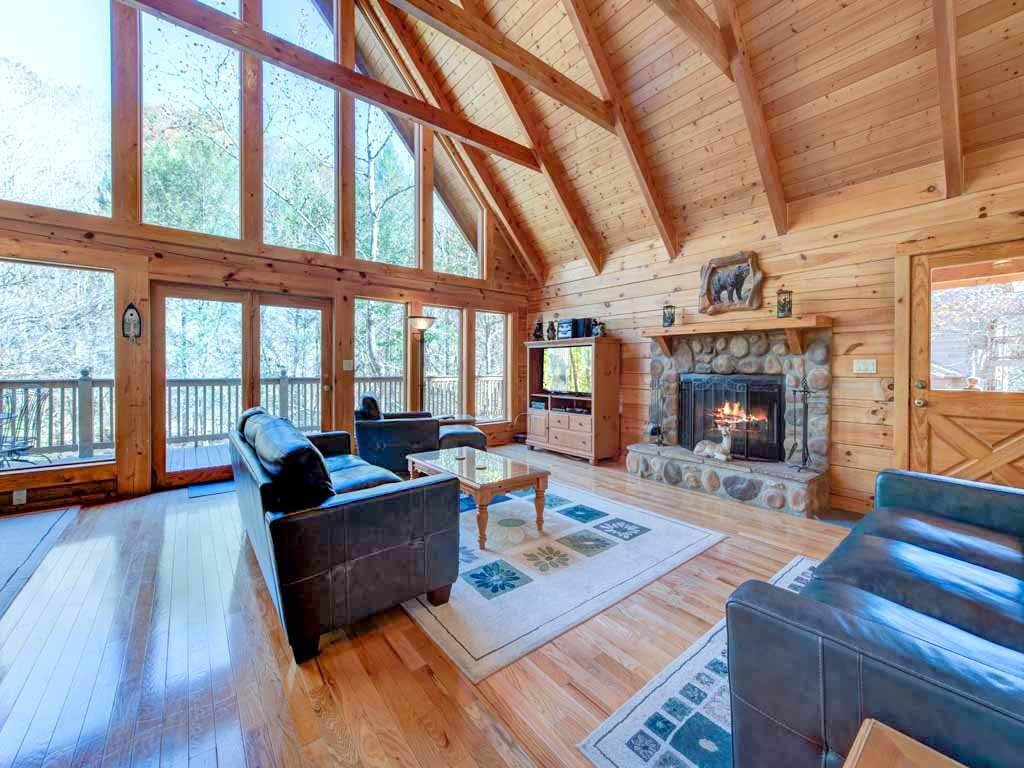 Photo of a Gatlinburg Cabin named Amazing River Retreat - This is the fifth photo in the set.