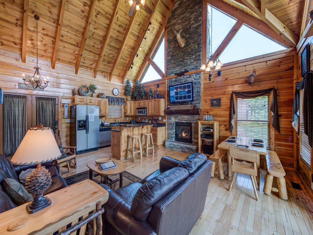 Photo of a Gatlinburg Cabin named Away In The Mountains - This is the first photo in the set.