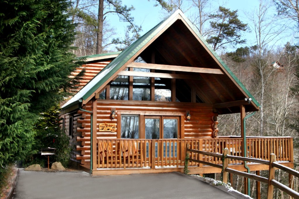 Peace of mind cabin in gatlinburg w 1 br sleeps4 - 1 bedroom cabins in smoky mountains ...