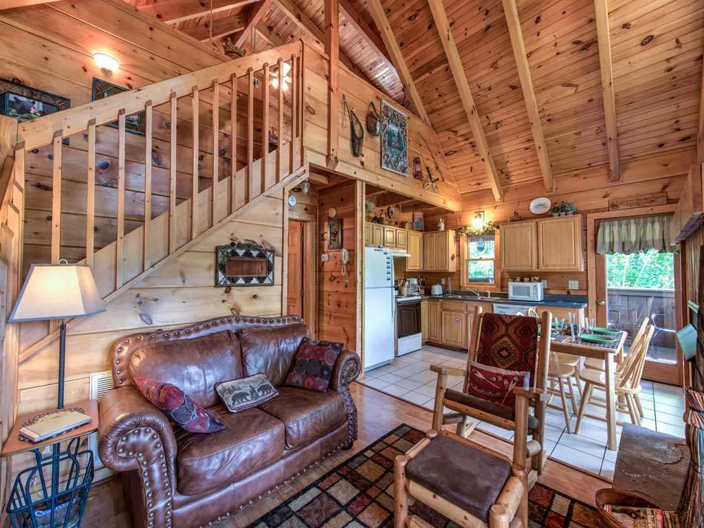 Photo of a Gatlinburg Cabin named Twilight Ridge - This is the first photo in the set.