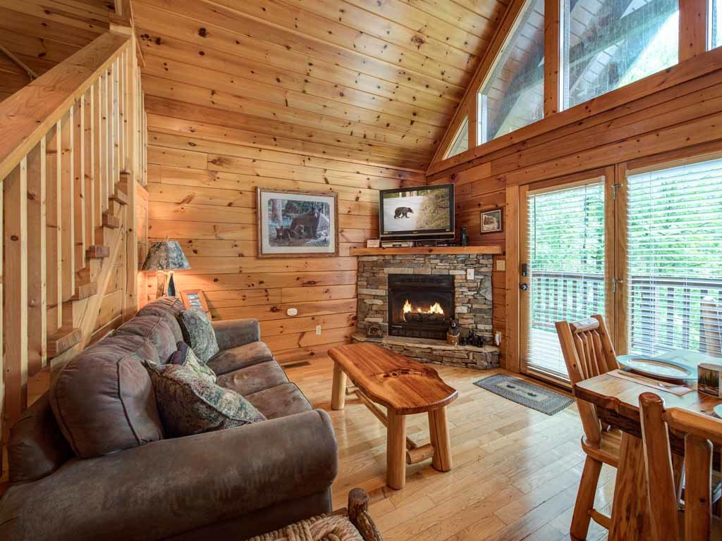 Photo of a Gatlinburg Cabin named Peace Of Mind - This is the first photo in the set.
