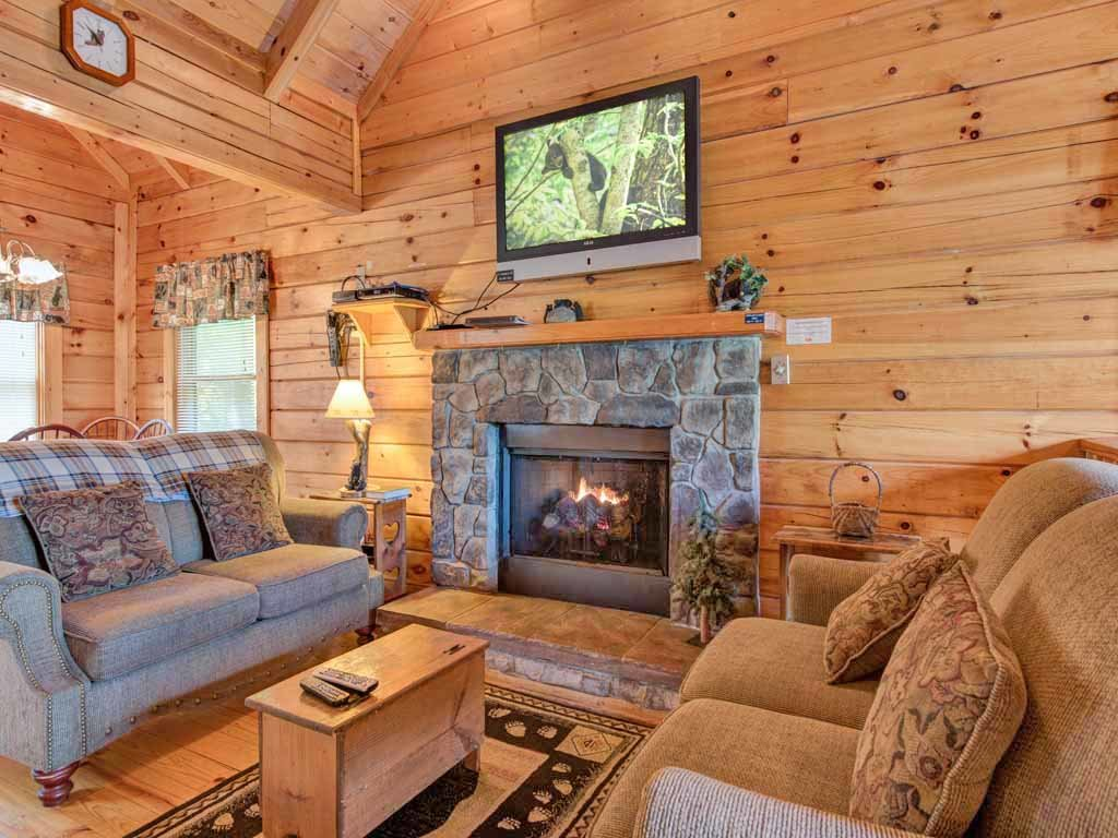 Photo of a Gatlinburg Cabin named Three Bears Cabin - This is the first photo in the set.