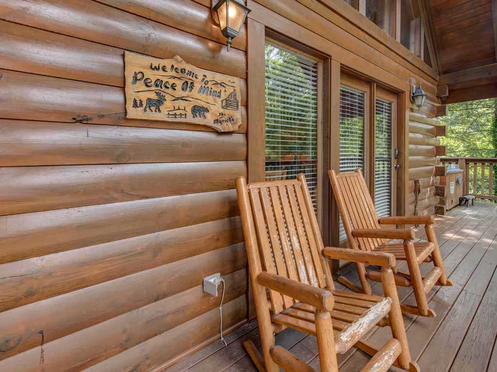 Photo of a Gatlinburg Cabin named Peace Of Mind - This is the seventeenth photo in the set.