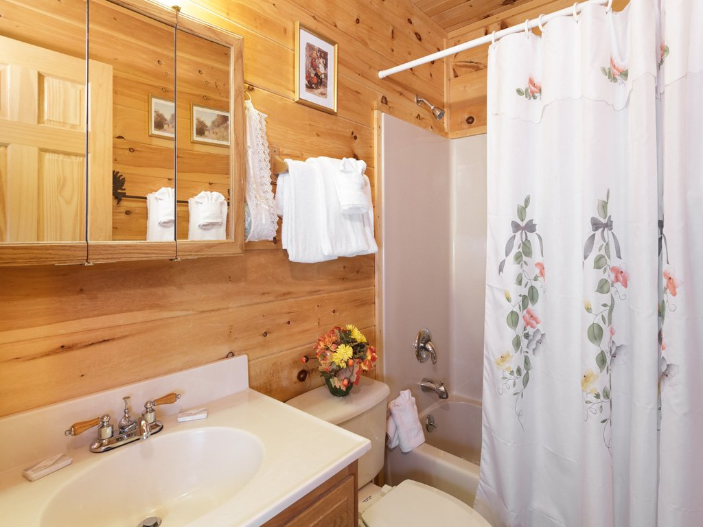 Photo of a Gatlinburg Cabin named Alpine Ski Lodge - This is the fourteenth photo in the set.