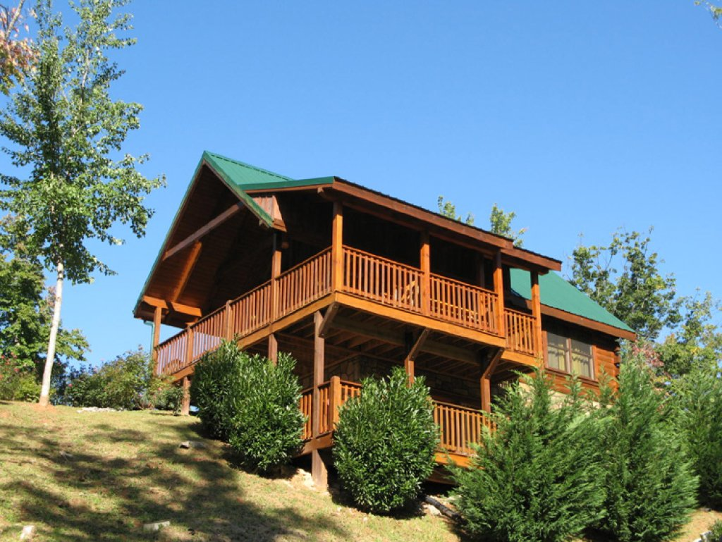 Photo of a Gatlinburg Cabin named Artistic Mountain - This is the twenty-first photo in the set.