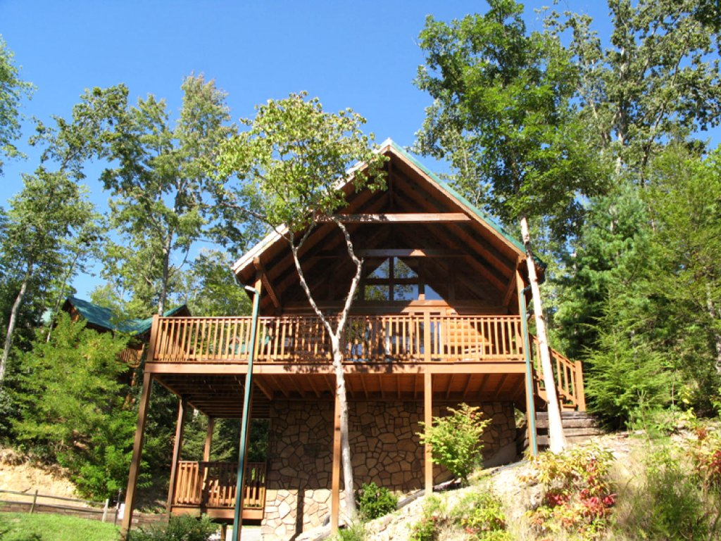 Photo of a Gatlinburg Cabin named Trail's End - This is the second photo in the set.