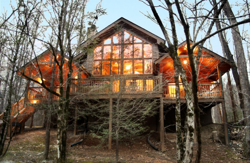 Photo of a Gatlinburg Cabin named Rivers Edge - This is the fourth photo in the set.