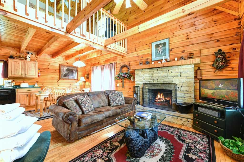 Photo of a Gatlinburg Cabin named Cherished Memories - This is the fourth photo in the set.