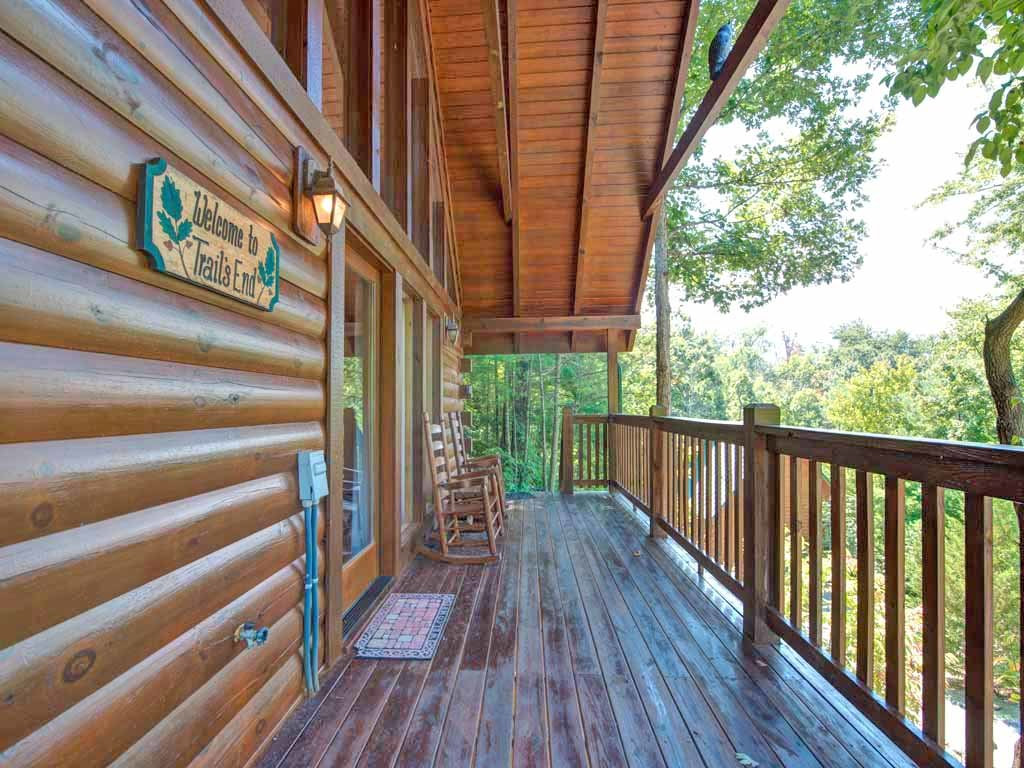 Photo of a Gatlinburg Cabin named Trail's End - This is the fifteenth photo in the set.