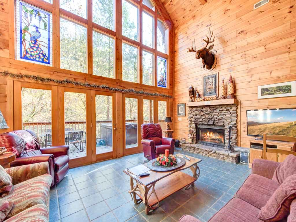Photo of a Gatlinburg Cabin named Rivers Edge - This is the first photo in the set.