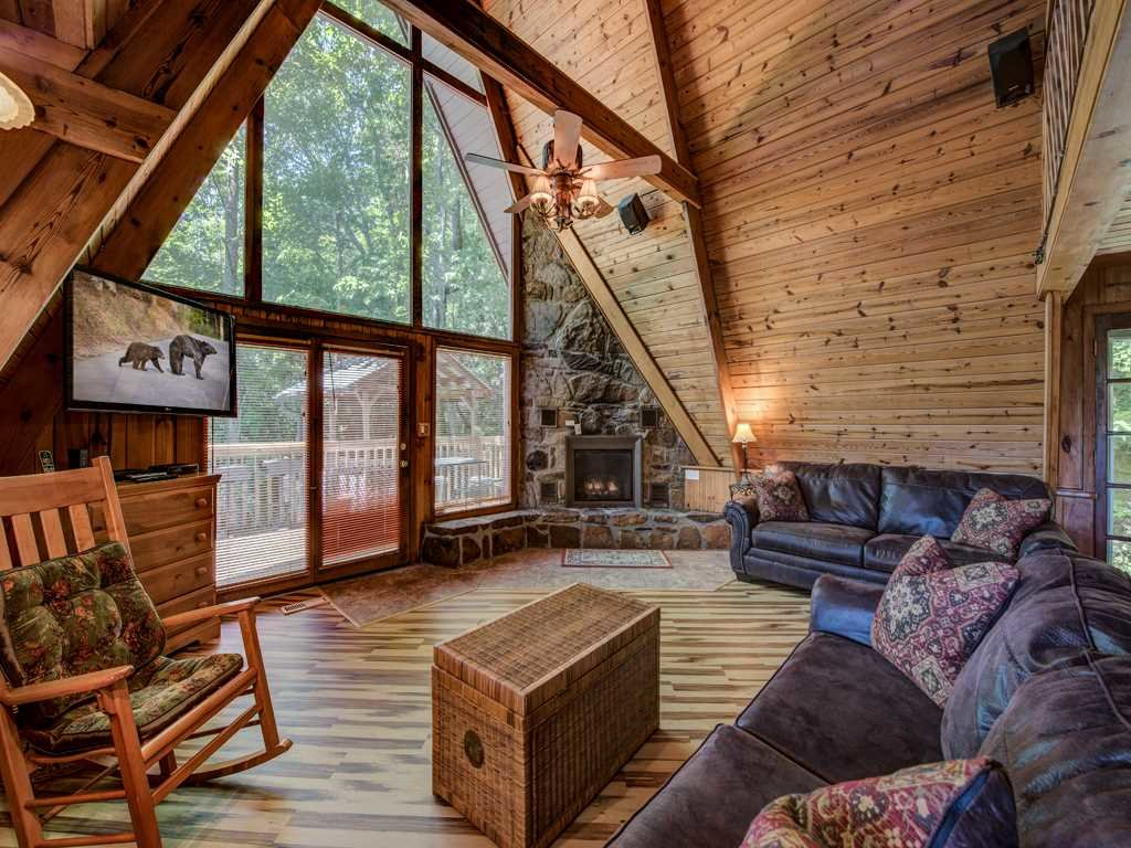 Photo of a Gatlinburg Cabin named A-frame Of Mind - This is the first photo in the set.