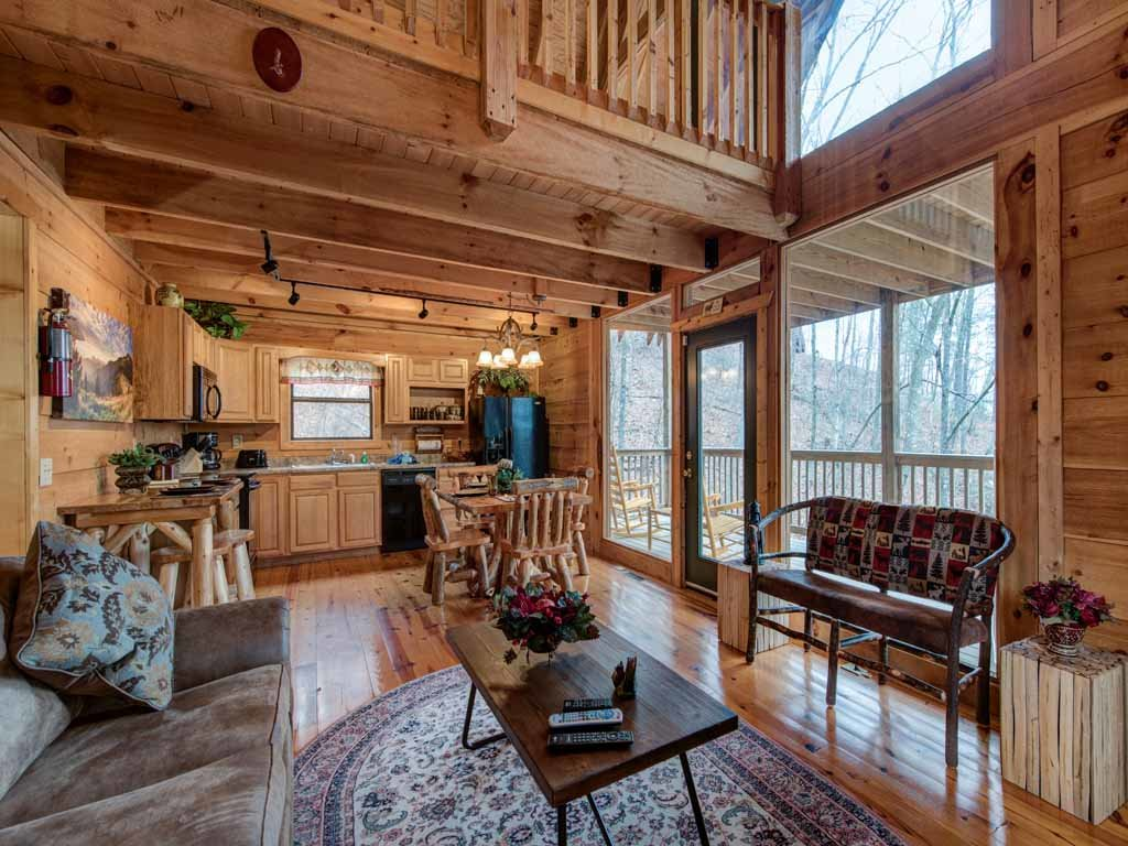 Photo of a Gatlinburg Cabin named Cozy Bear Ii - This is the fourth photo in the set.