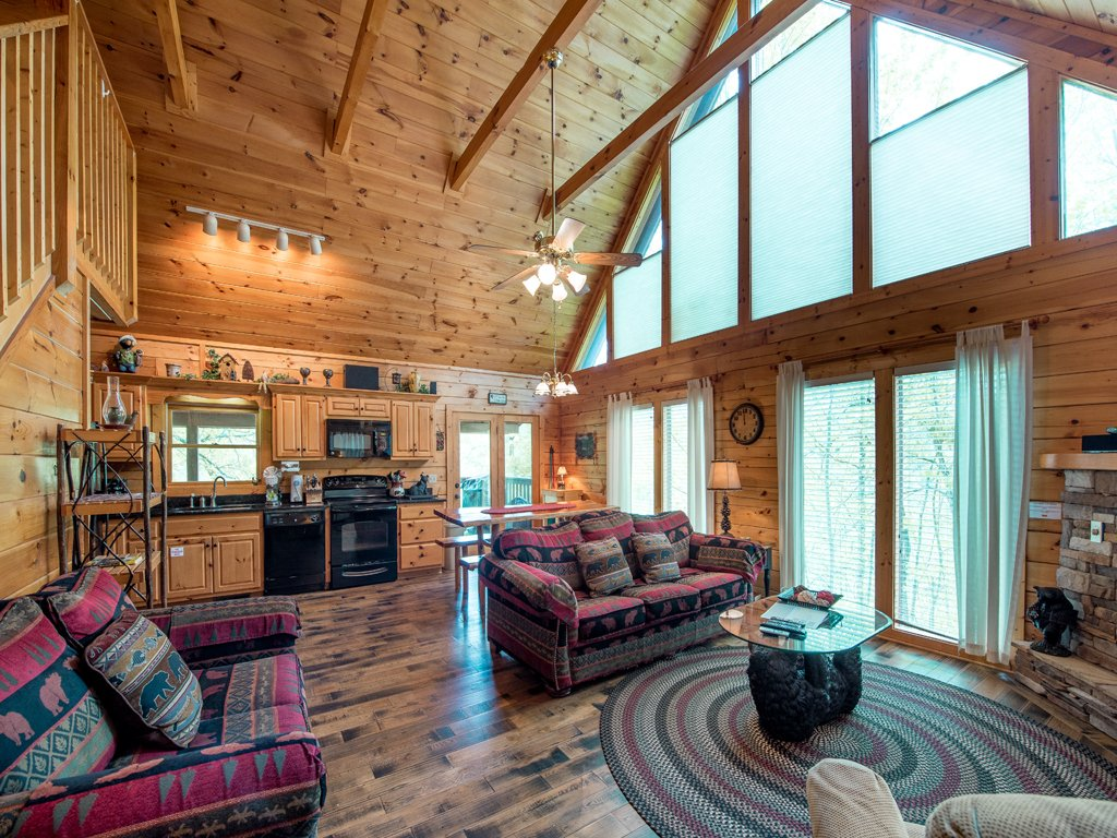 Photo of a Gatlinburg Cabin named Bear Essentials - This is the first photo in the set.