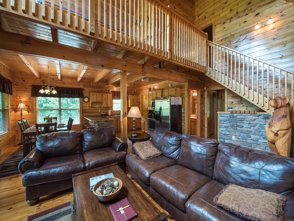 Photo of a Gatlinburg Cabin named Triple Mountain View - This is the first photo in the set.