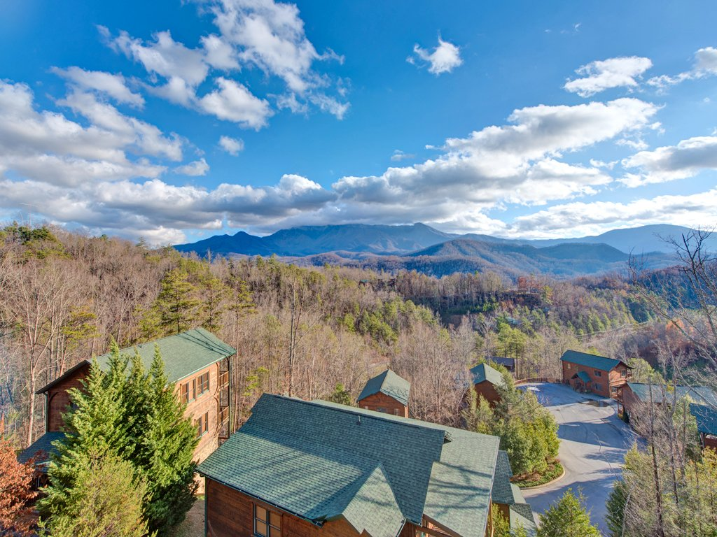 Million dollar view cabin in gatlinburg w 2 br sleeps8 for Nuvola 9 cabin gatlinburg