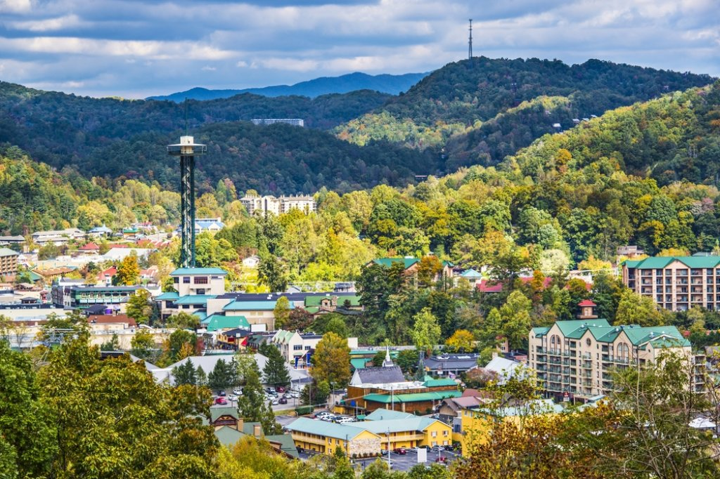 Photo of a Gatlinburg Cabin named Chimney Top Overlook - This is the thirty-eighth photo in the set.