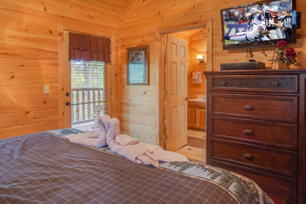 Photo of a Gatlinburg Cabin named Peyton's Hideaway - This is the twelfth photo in the set.
