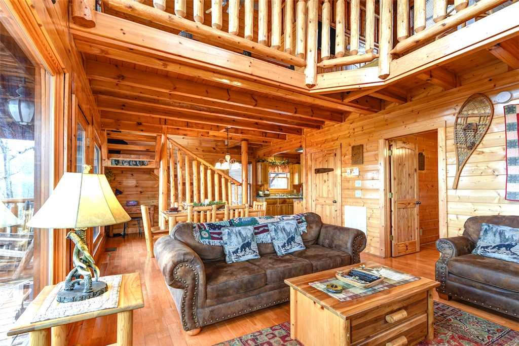 Photo of a Pigeon Forge Cabin named True Love - This is the fourth photo in the set.