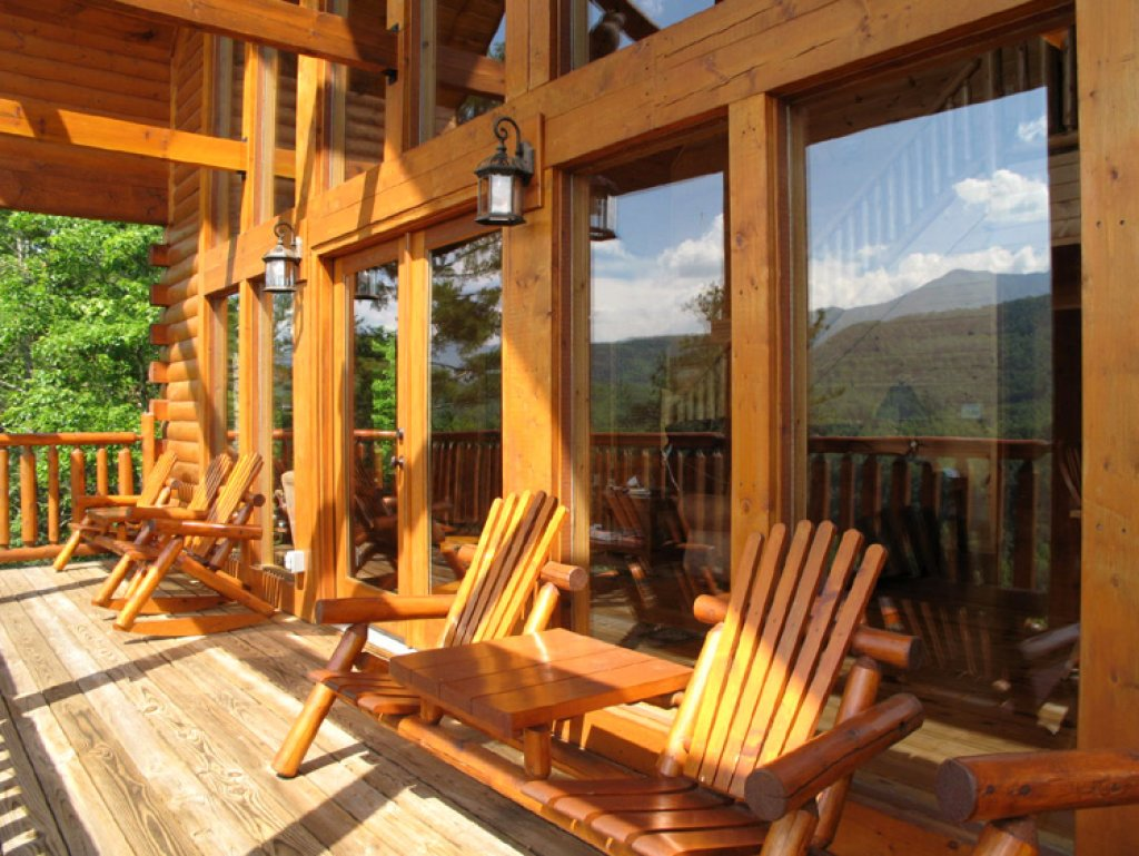 Photo of a Gatlinburg Cabin named Bear's Eye View - This is the twenty-first photo in the set.
