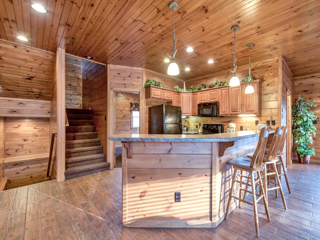 The Great Escape Ii Cabin In Gatlinburg W 5 Br Sleeps17