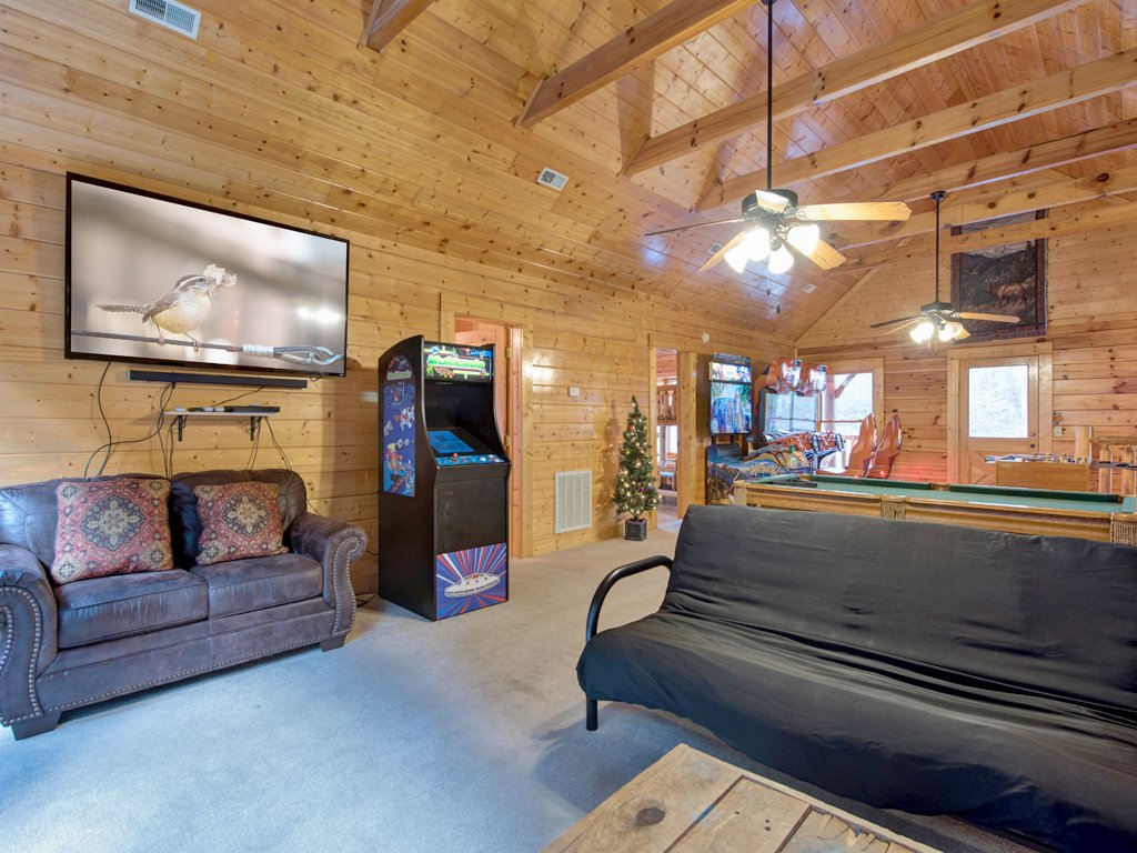 Photo of a Pigeon Forge Cabin named Creekside Getaway - This is the tenth photo in the set.