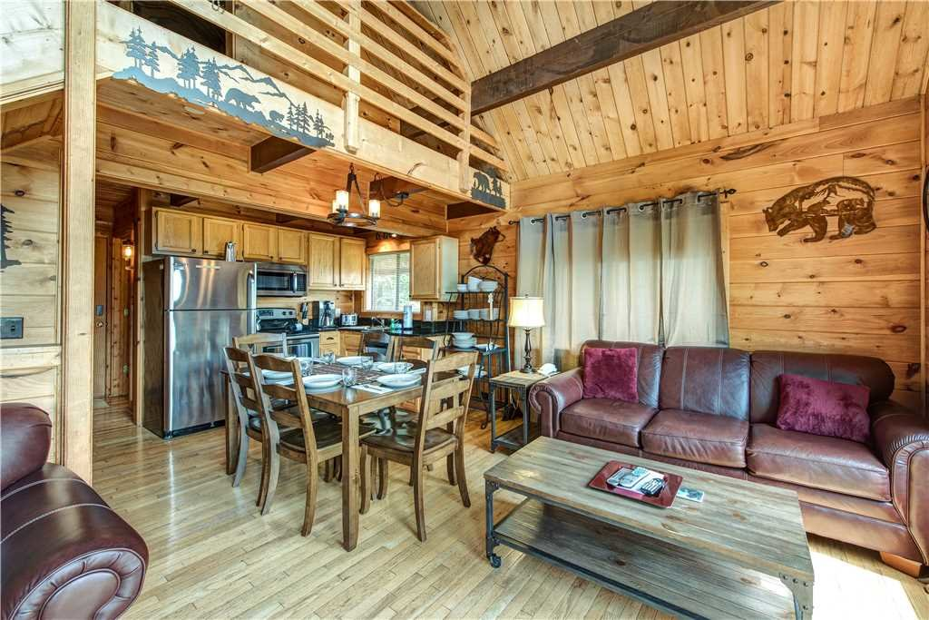 Photo of a Gatlinburg Cabin named Smoky Mountain View - This is the first photo in the set.
