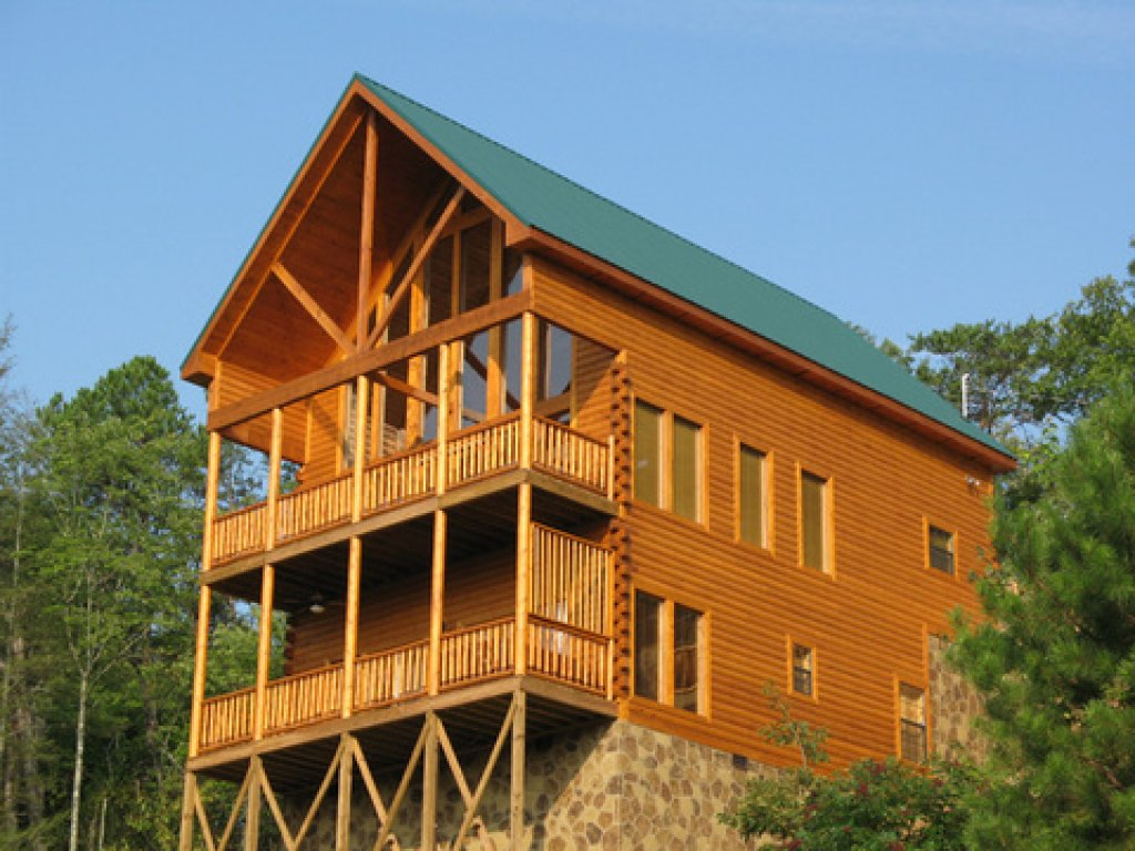 Photo of a Gatlinburg Cabin named Bear's Eye View - This is the twenty-fourth photo in the set.