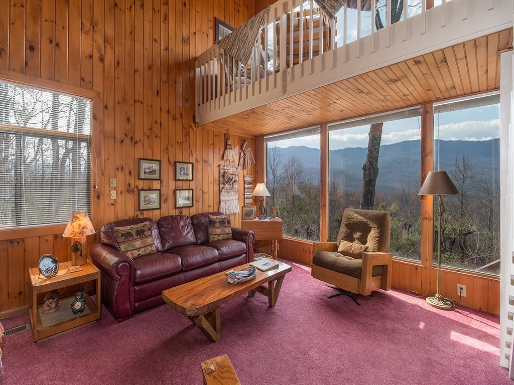 Photo of a Gatlinburg Cabin named Mountain Top - This is the first photo in the set.