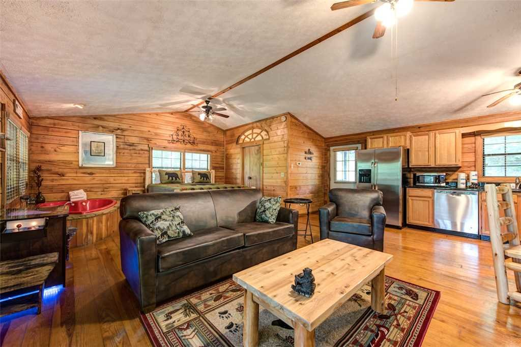 Photo of a Pigeon Forge Cabin named Romancing The Stars - This is the fifth photo in the set.