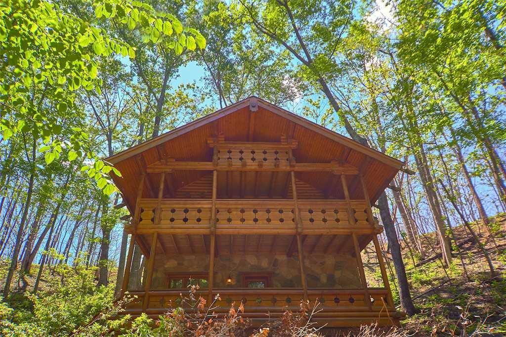 Enchanted Forest Cabin In Gatlinburg W 1 Br Sleeps4
