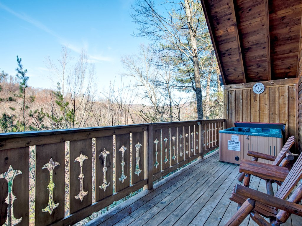 Photo of a Gatlinburg Cabin named Irish Blessings - This is the sixteenth photo in the set.
