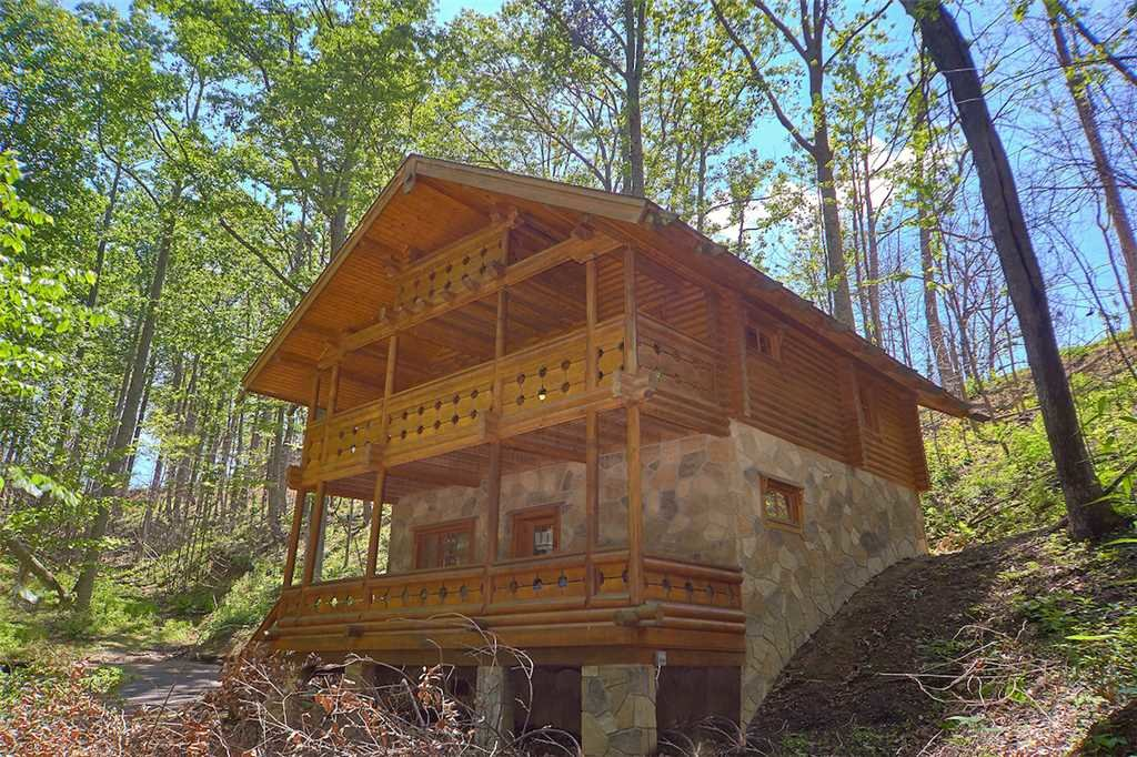 Enchanted Forest Cabin In Gatlinburg W 1 Br Sleeps4