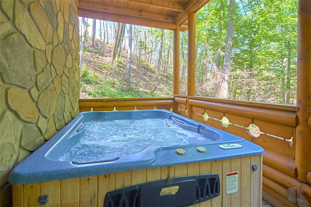 Photo of a Gatlinburg Cabin named Enchanted Forest - This is the third photo in the set.