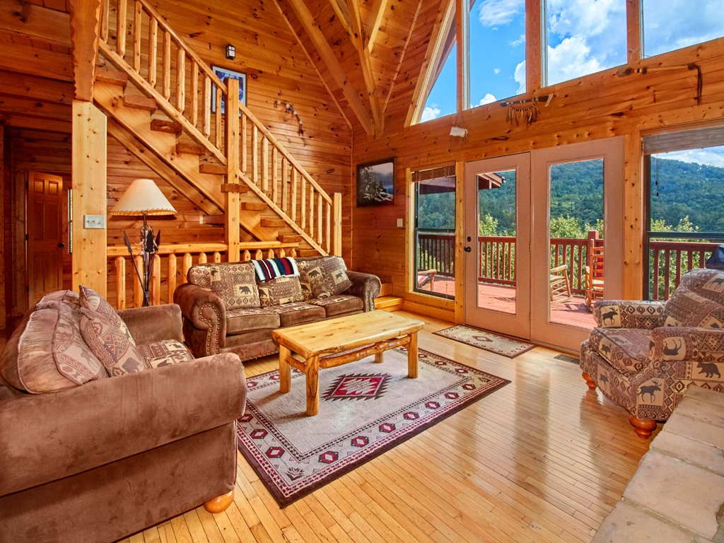 Photo of a Sevierville Cabin named A Majestic View Iii - This is the first photo in the set.