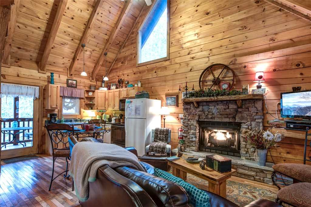 Photo of a Pigeon Forge Cabin named Wild At Heart - This is the first photo in the set.