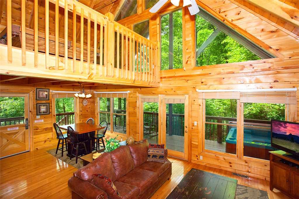 Photo of a Pigeon Forge Cabin named A Timeless Event - This is the fourth photo in the set.