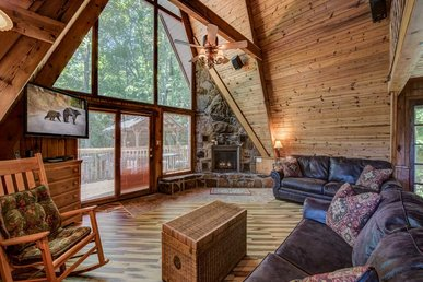 A-frame Of Mind, 2 Bedrooms, Mountain View, Arcade, Hot Tub,  Sleeps 6