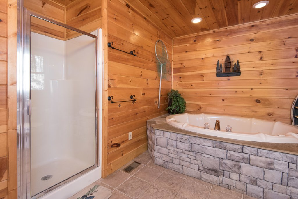 Photo of a Sevierville Cabin named Gateway To Heaven - This is the twelfth photo in the set.