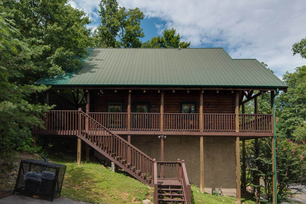 Photo of a Pigeon Forge Cabin named Black Paw - This is the seventeenth photo in the set.