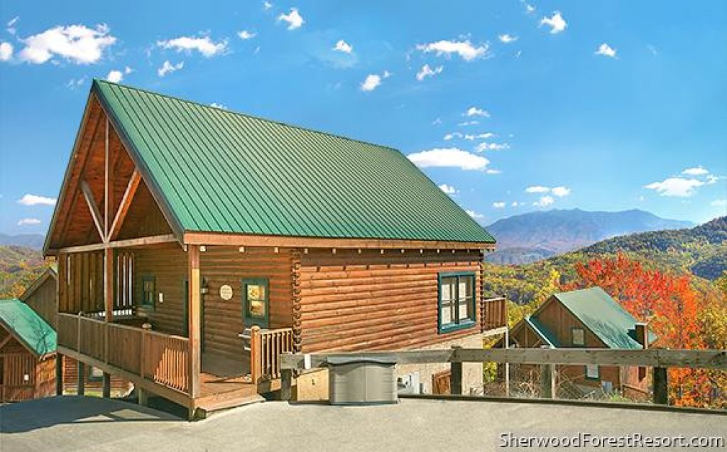 Photo of a Pigeon Forge Cabin named Moonlight Retreat - This is the tenth photo in the set.