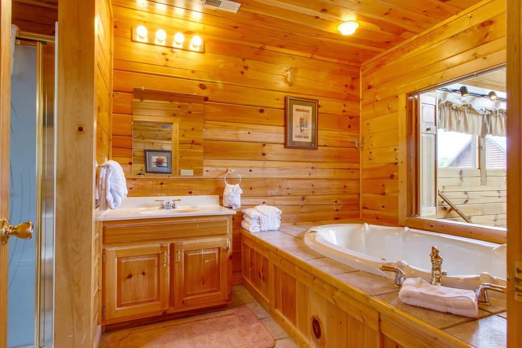 Photo of a Pigeon Forge Cabin named Mountain Dream At Starr Crest - This is the twenty-first photo in the set.