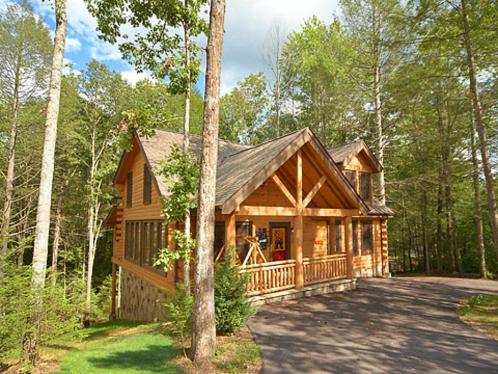 Photo of a Pigeon Forge Cabin named Tennessee Treasure - This is the sixteenth photo in the set.