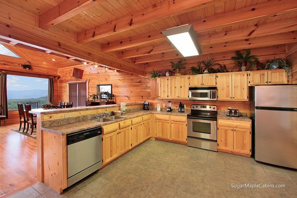 Photo of a Pigeon Forge Cabin named Big Sky - This is the fifth photo in the set.