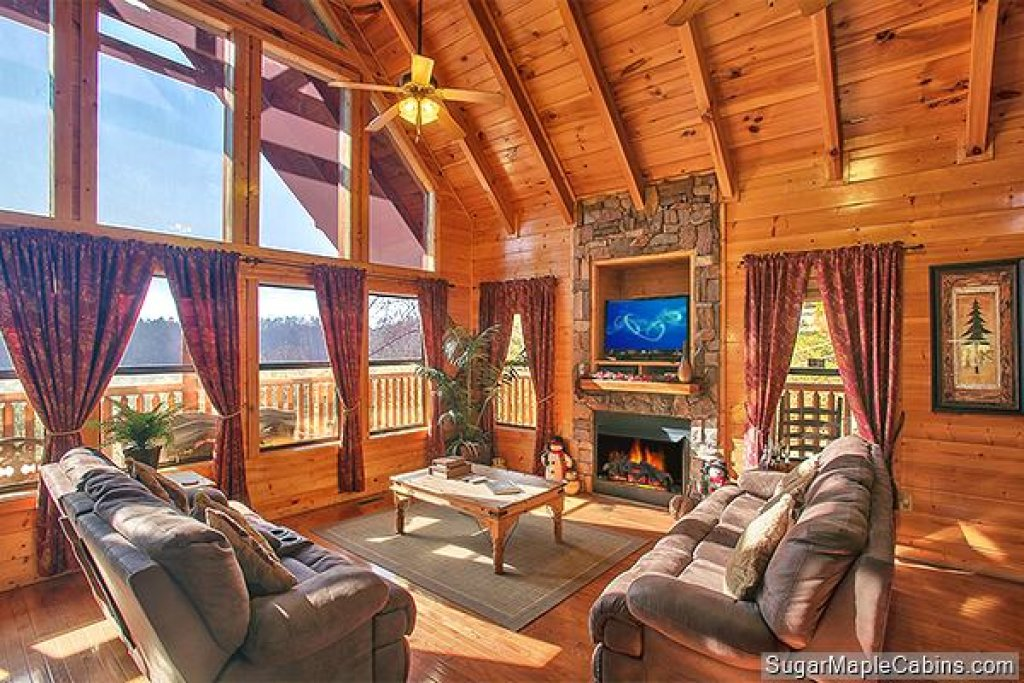 Photo of a Sevierville Cabin named Southern Charm - This is the seventh photo in the set.