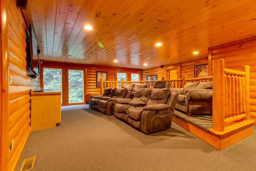 Photo of a Pigeon Forge Cabin named Rustic Cinema Lodge - This is the twelfth photo in the set.