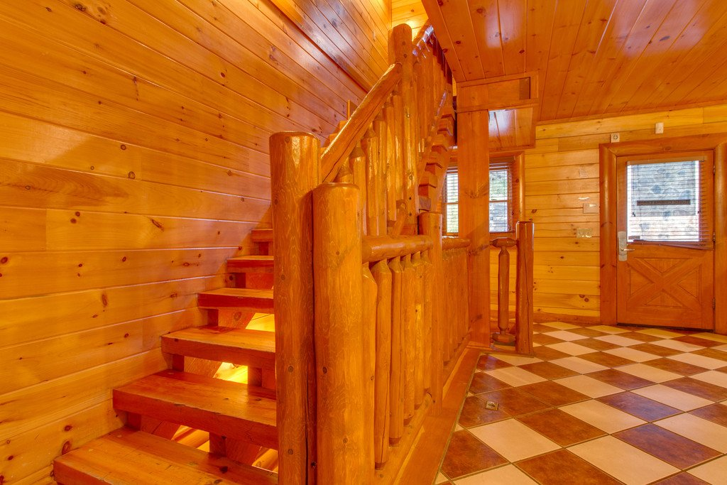 Photo of a Pigeon Forge Cabin named Rustic Cinema Lodge - This is the tenth photo in the set.