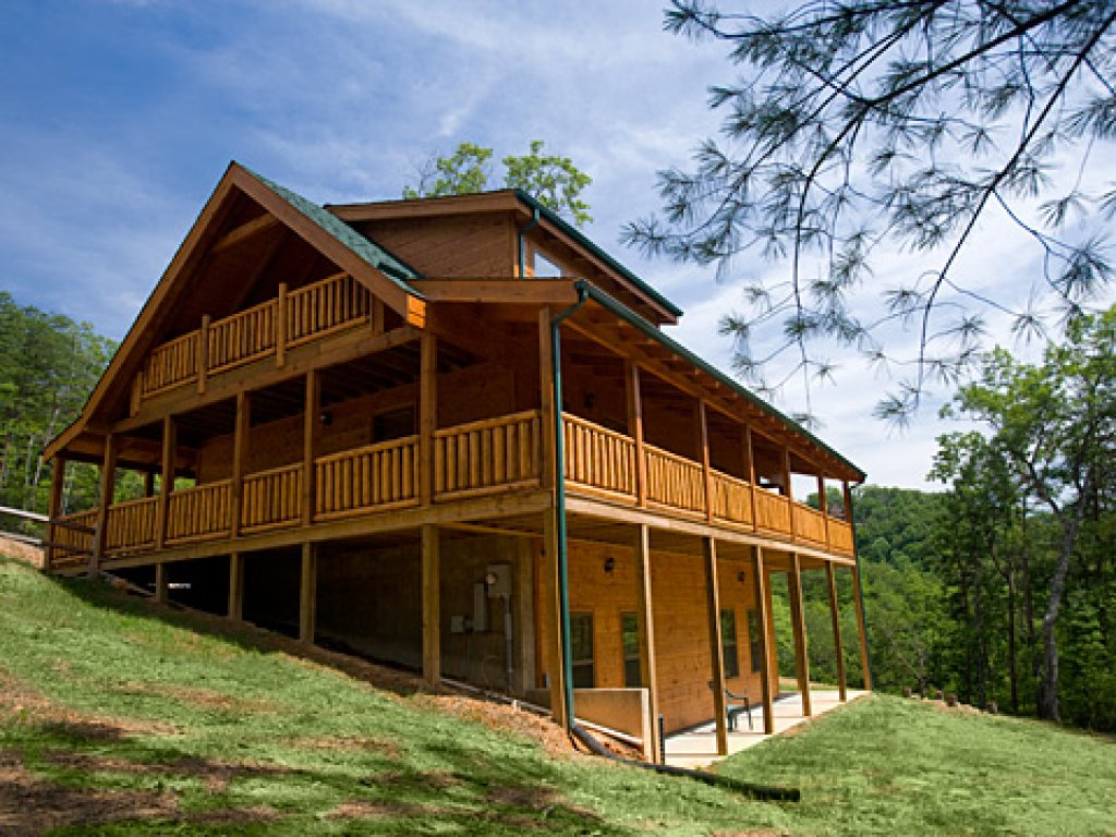 Photo of a Pigeon Forge Cabin named Peace Of Mind - This is the twenty-eighth photo in the set.