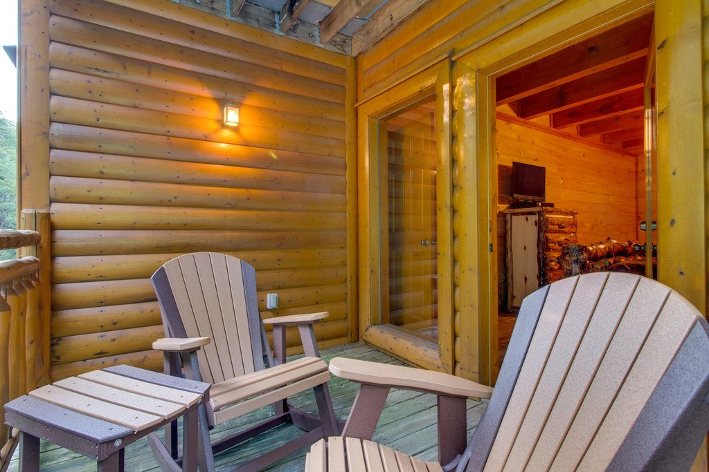 Photo of a Pigeon Forge Cabin named Rustic Cinema Lodge - This is the twenty-seventh photo in the set.