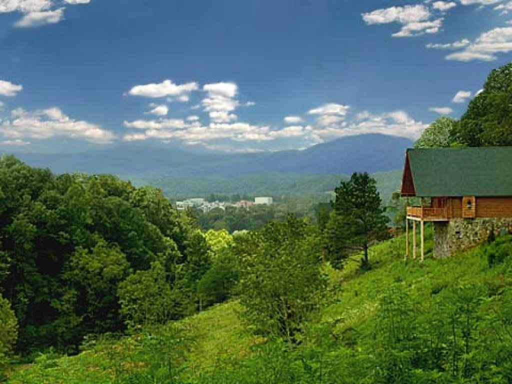 Photo of a Pigeon Forge Cabin named Merry Weather - This is the eleventh photo in the set.